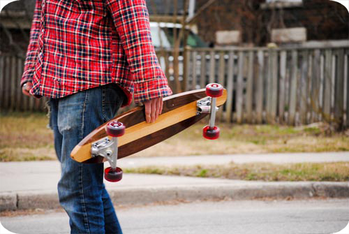 Blacklock Longboards, Canadian, Skateboarding, Wood