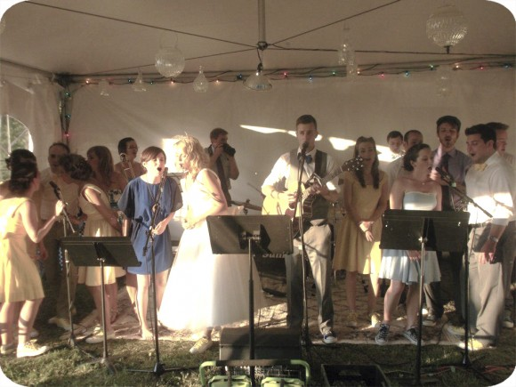 Singing, Wedding Party, Summer