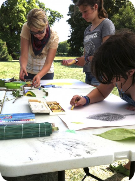 Kids Camp, Workshop, Prince Edward County, Art Camp, Drawing, Nature, Pastels