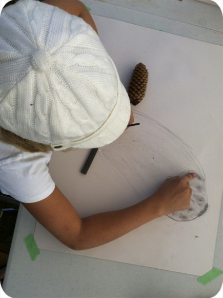 Kids Camp, Workshop, Life Drawing, Learning, Pinecone