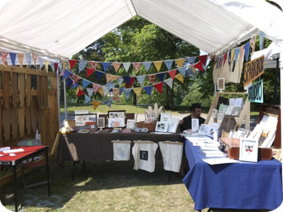 Peterborough, Folk Festival, Craft Sale, Spark Box Studio, Paper Goods, Textiles