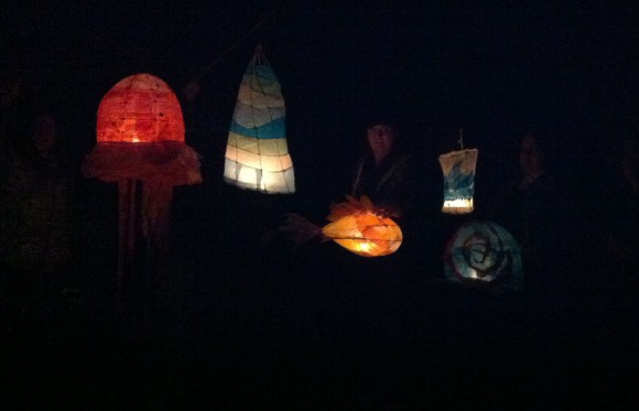 Paper Lanterns, Small Pond Arts, Craft, Workshop