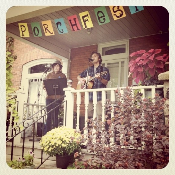 Porchfest, Laura Todd, Sean Bokenkamp, Caesar Shift, Bellevile, Music Festival