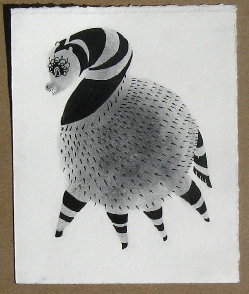Leah Gold, Illustration, Drawing, Animal, Black and White, Ink, Artist in Residence