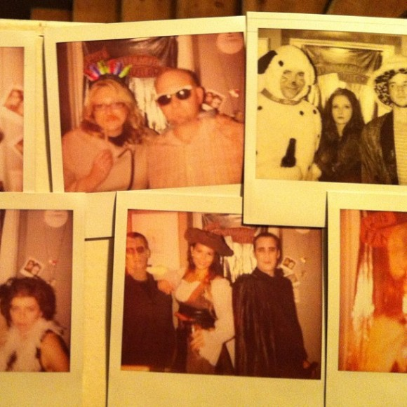 Halloween, Photobooth, Polaroids, Costumes