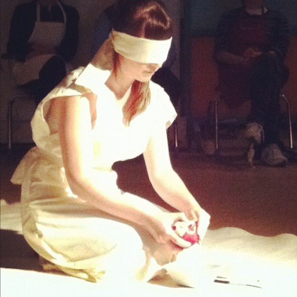 Food=Need, Chrissy Poitras, Performance Art, Toronto, WIA Projects, DPNCHC