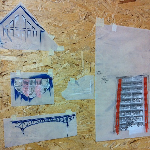 Charley Young, Artist in Residents, Halifax, Printmaking, Paper Works, Installation, Buildings, Historical
