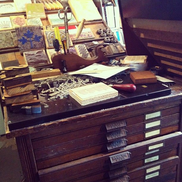 Jackson Creek Press, Peterborough, Ontario, Printshop, Letterpress, Paperworks, Studio Visit