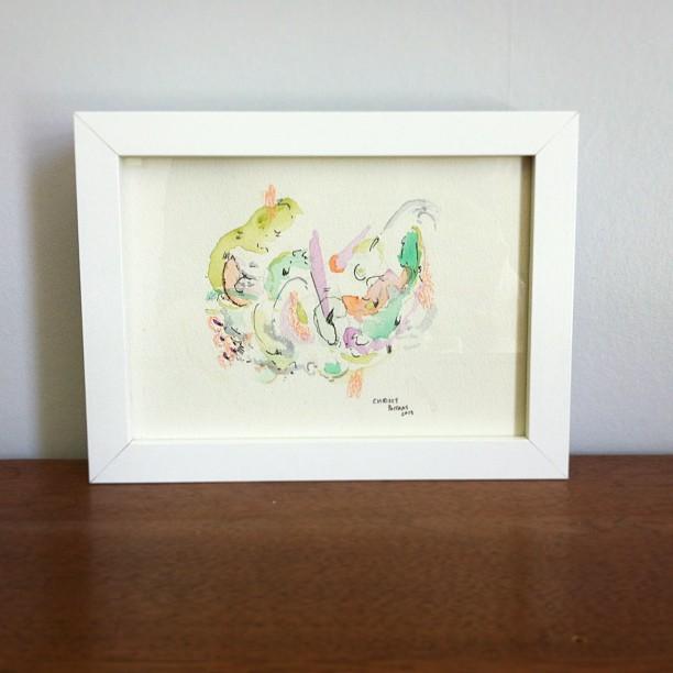 Painting, Chrissy Poitras, Abstract, Watercolour, Paper Work