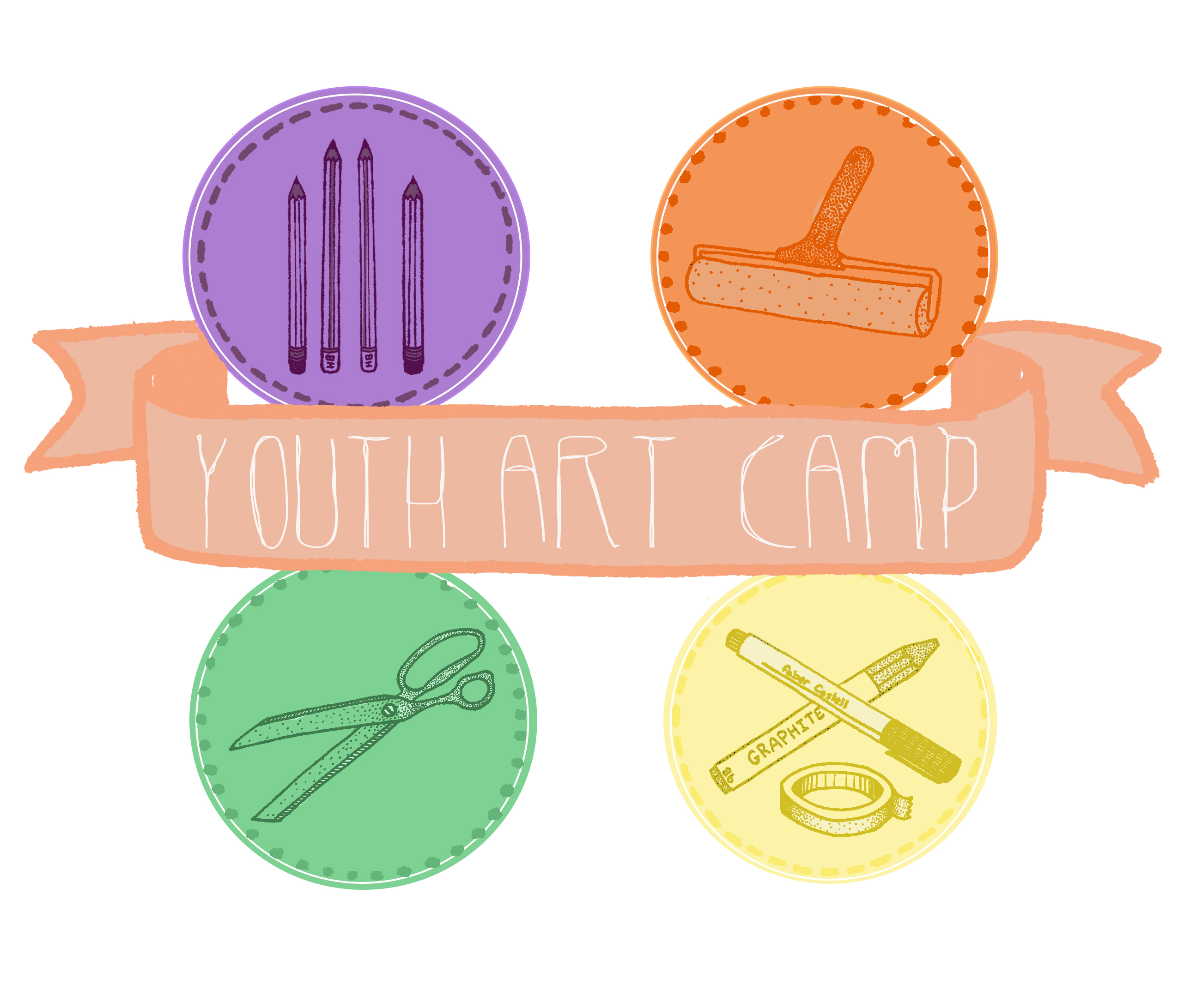 Youth Camp, Kids Camp, Art Camp, Craft, Art, Week-long, Creative, Education