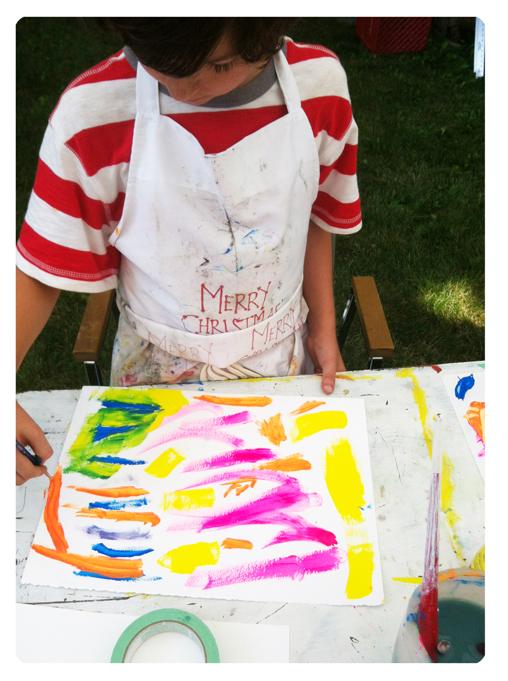 Art Camp, Workshop, Kids, Printmaking, Art Making, Silkscreen, Monoprint, Painting