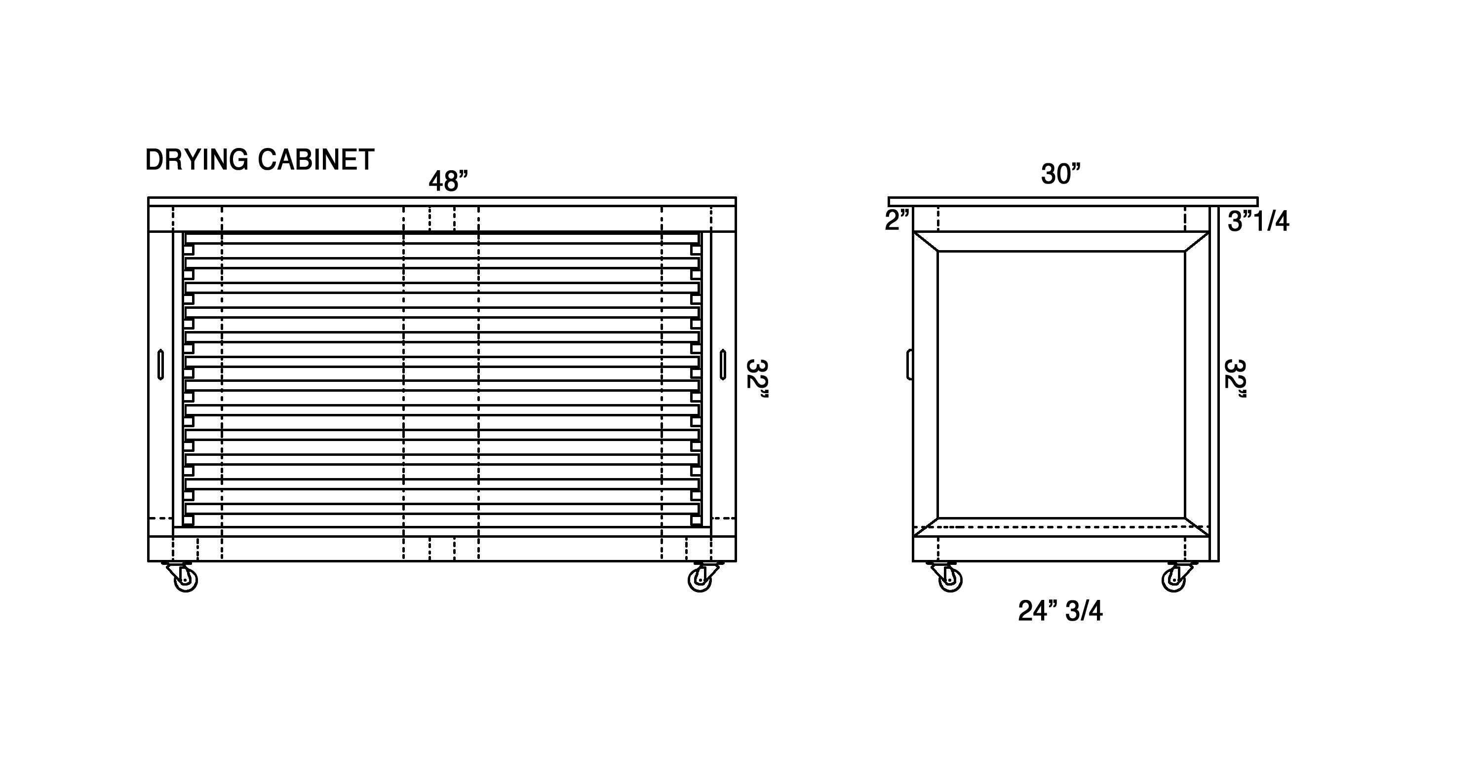 plans for drying cabinet