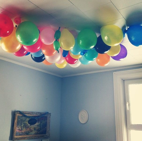 New Years, Party, Decor, Balloons
