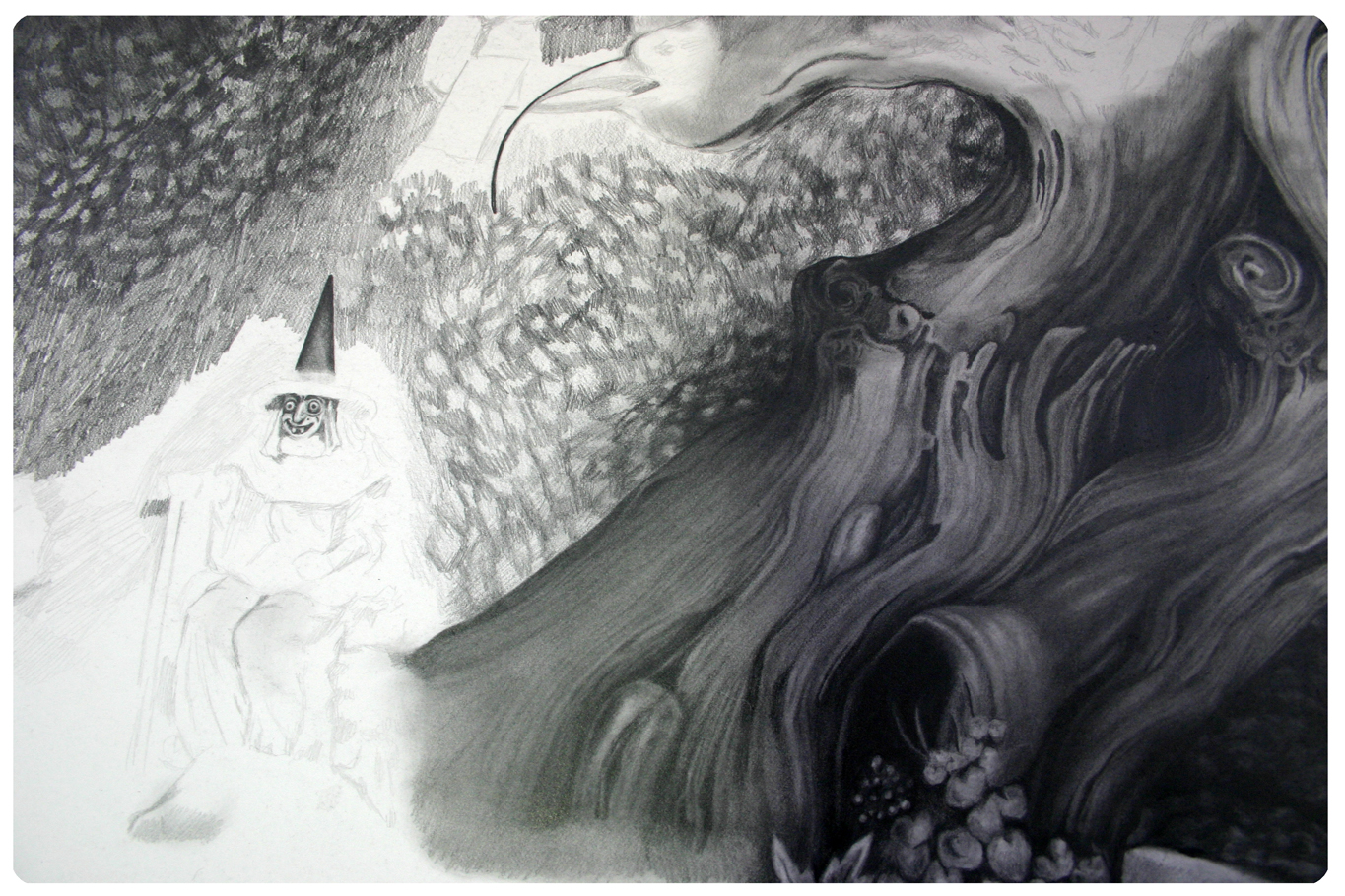 Adrienne Kammerer, Drawing, Pencil, Paper, Artist in Residents, Emerging Canadian Artist
