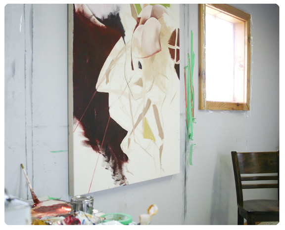 Gillian King, Artist in Residence, Painter, Oil